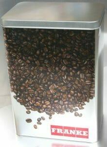 Metalldose für Kaffee 1kg